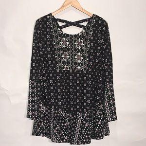 Style&Co // boho bell sleeve dress XL